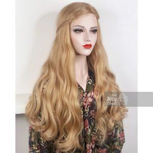 Honey Blonde Wavy Lace Wig | Bianca